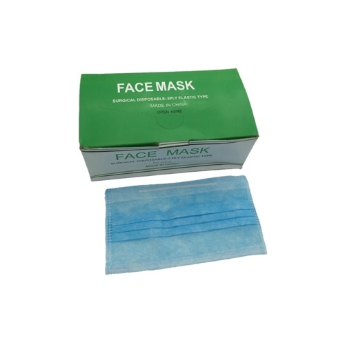 disposable mouth face mask 3-ply latex