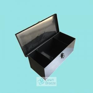 Black Lockable Medicine Box Manufacturer
