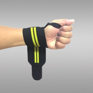wrist strap with thumb loop wrist wrap manufacturer custom weight lifting wrist straps